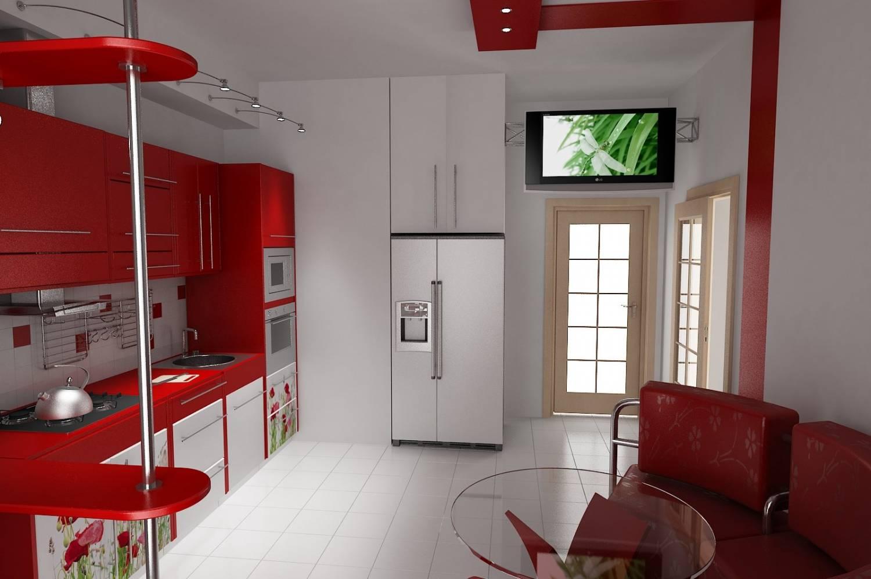 Дизайн кухни 20 м фото