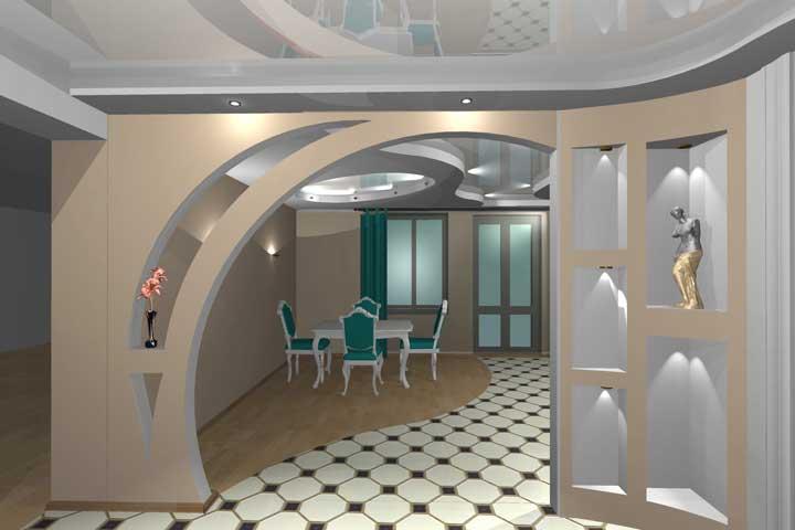 Дизайн арки фото