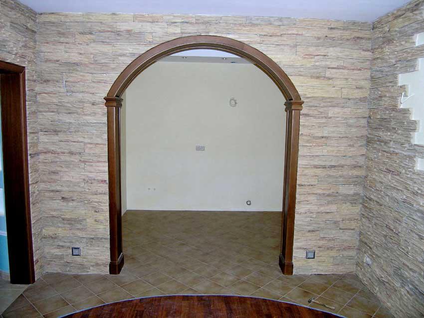 Как оформить арку своими руками в квартире