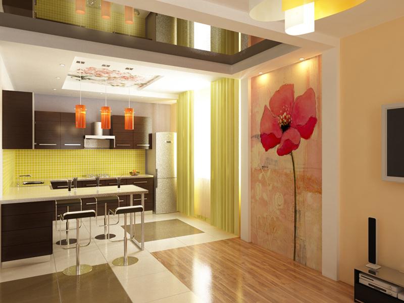 Ремонт квартир коттеджей фото кухня