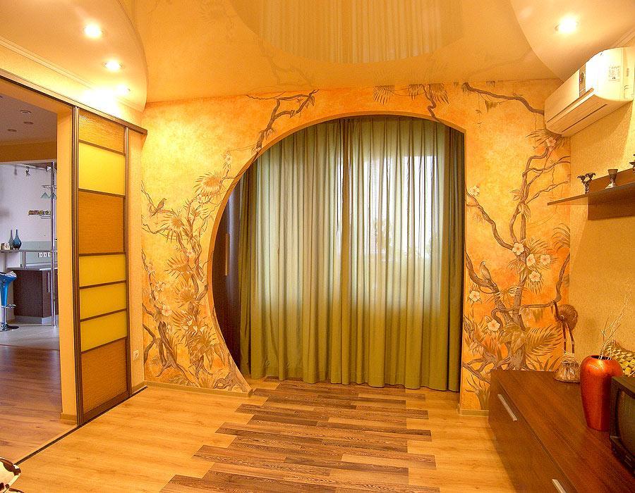 Ремонт арки фото дизайн.