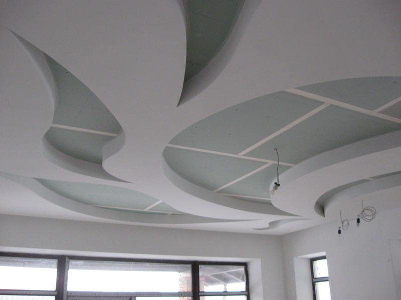 Многоуровневые потолки из гипсокартона своими руками